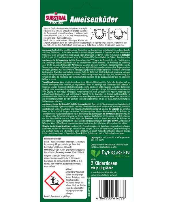 Substral® Celaflor® Ameisenköder, 2 Stk.