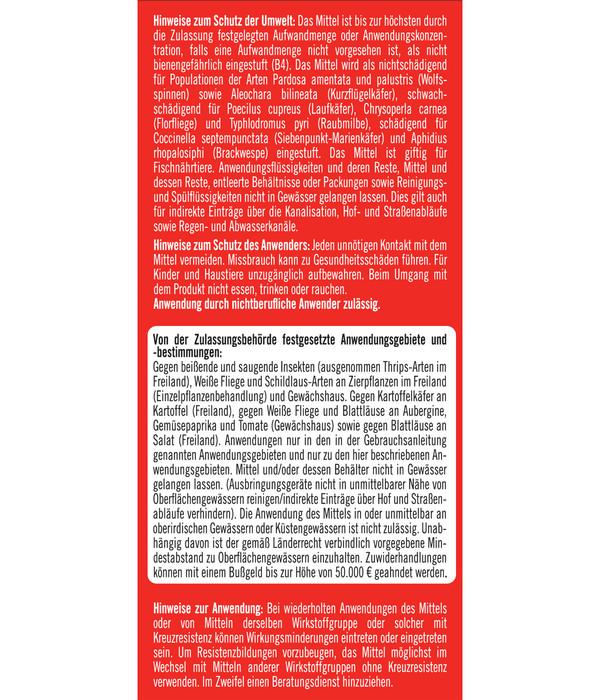 Substral® Celaflor® Schädlingsfrei Careo® Konzentrat für Gemüse, 100 ml