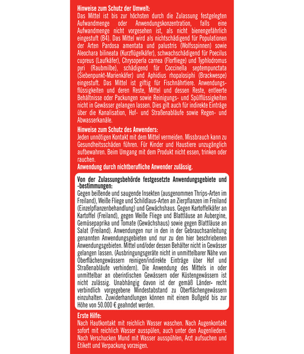 Substral® Celaflor® Schädlingsfrei Careo® Konzentrat für Zierpflanzen