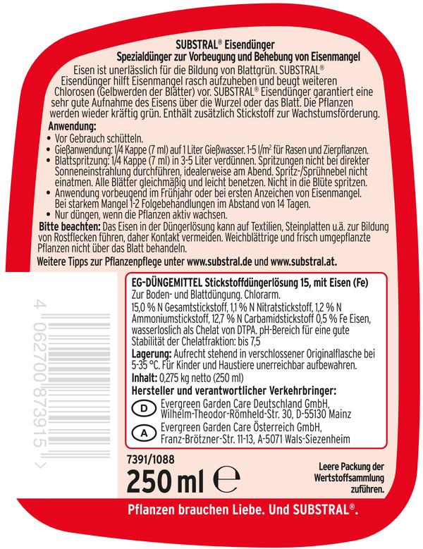Substral® Eisendünger, 250 ml