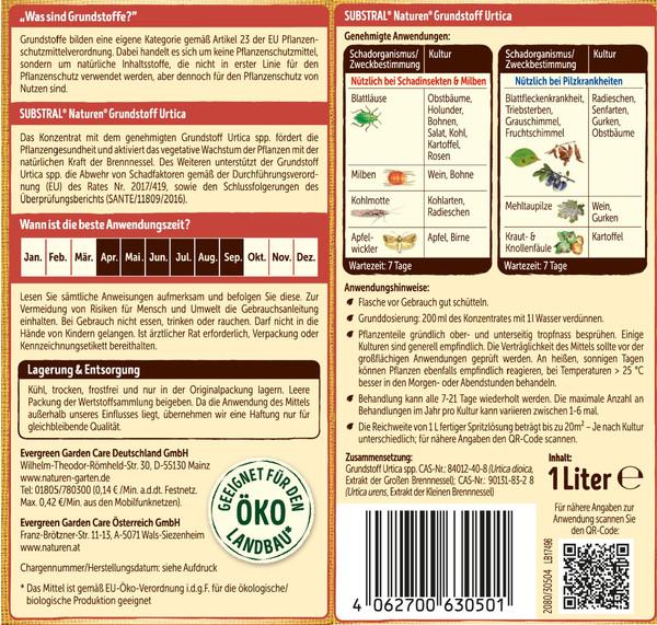 Substral® Naturen® Grundstoff Urtica, 1 l