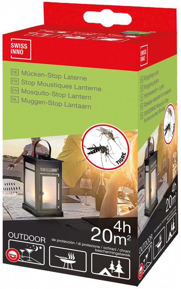 Swissinno Mückenstop-Laterne Set für den Außenbereich