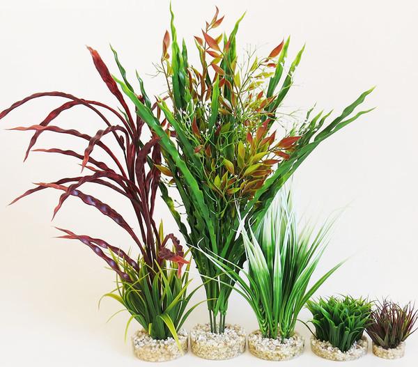 Sydeco Kit Kombi 3, Kunstpflanzen, 5 Stück