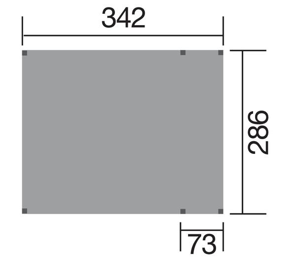 Tabaluga Doppelschaukel 816 A mit Podest