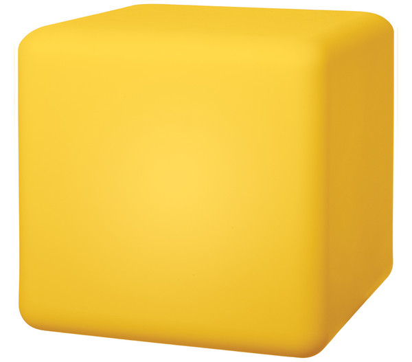 Telefunken Solarleuchte mit Farb-LED Cube, 30 cm