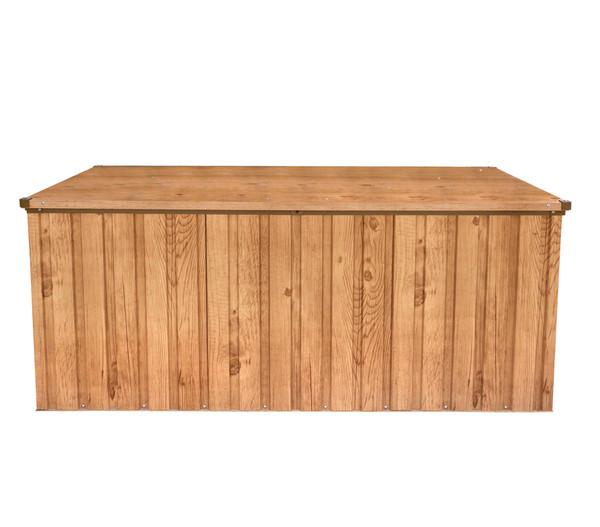 tepro Metall Gerätebox, Eiche Dekor, 174 x 73 x 73 cm