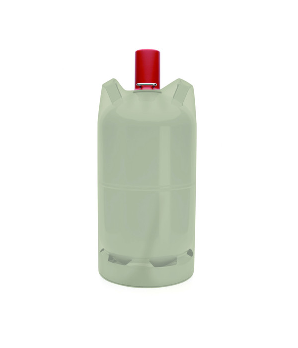 tepro Universal Abdeckhaube für Gasflasche 5 kg, Ø 24, H 45 cm