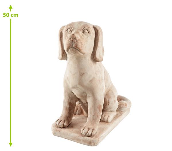 Terrakotta-Hund, 41 x 20 x 37 cm