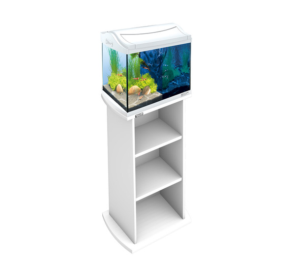 Tetra AquaArt LED Aquarium Shrimps, 20 Liter, weiß