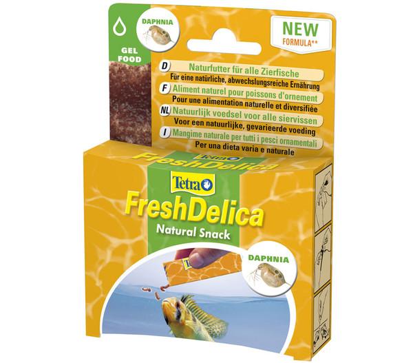 Tetra FreshDelica Daphnia Fischfutter, 48 g