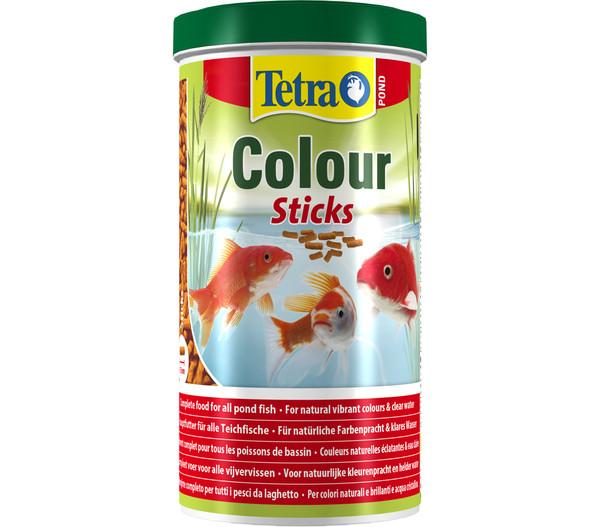 Tetra Pond Colour Sticks, Fischfutter