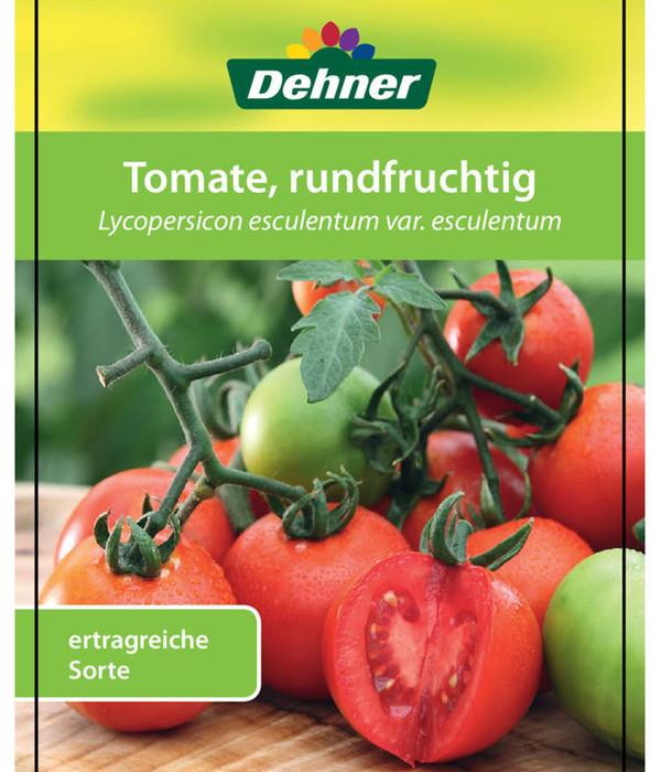 Tomate rundfruchtig, rot