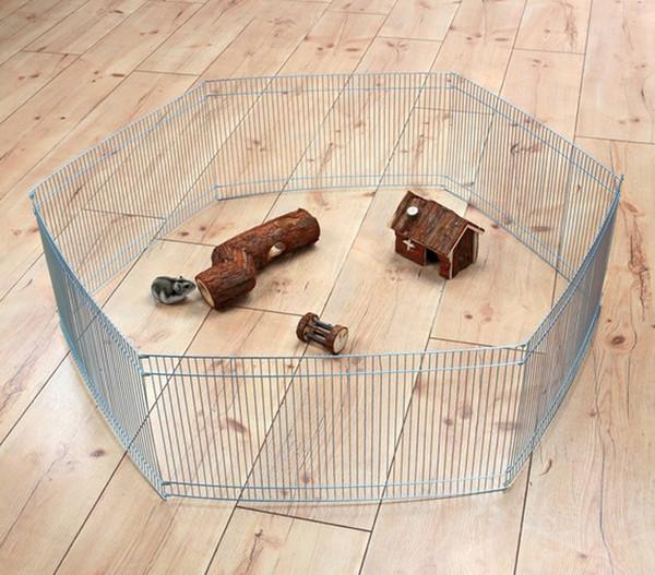 Trixie Freilaufgehege für Kleintiere, 48x25 cm