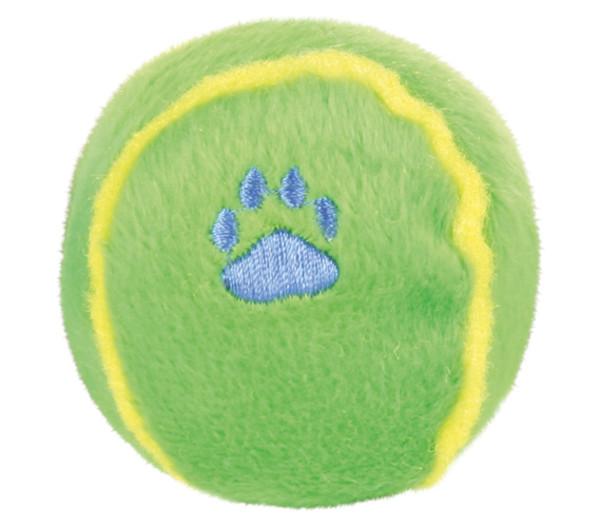 Trixie Hundespielzeug Plüschball, Ø 6 cm