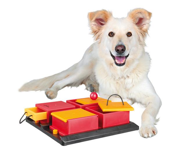 Trixie Hundespielzeug Poker Box 1