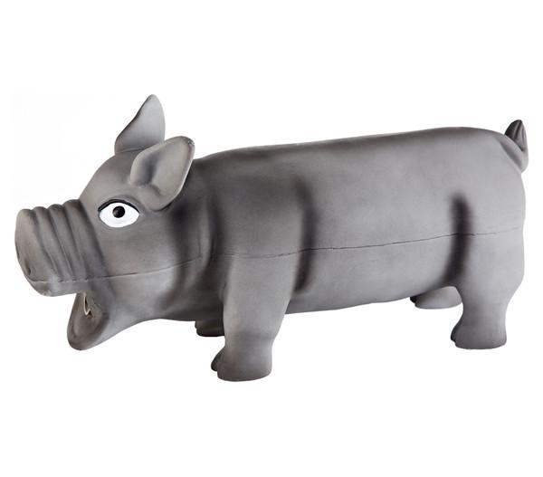 Trixie Hundespielzeug Schwein aus Latex