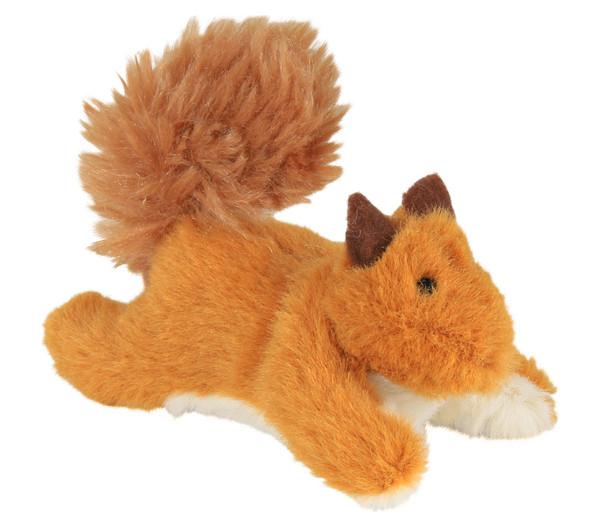 Trixie Katzenspielzeug Plüscheichhörnchen mit Catnip