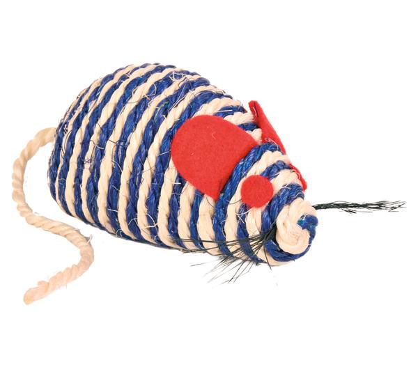 Trixie Katzenspielzeug Sisal-Maus mit Catnip