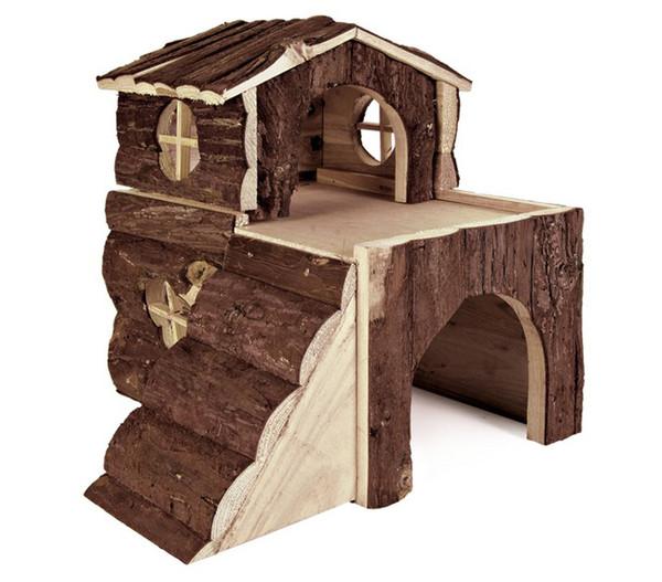 trixie natural living holzhaus bjork 20x19x21 cm dehner. Black Bedroom Furniture Sets. Home Design Ideas