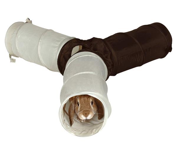 Trixie Spieltunnel für Kaninchen, 3 x 18 x 47 cm