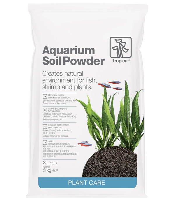 Tropica Bodengrund Aquarium Soil Powder