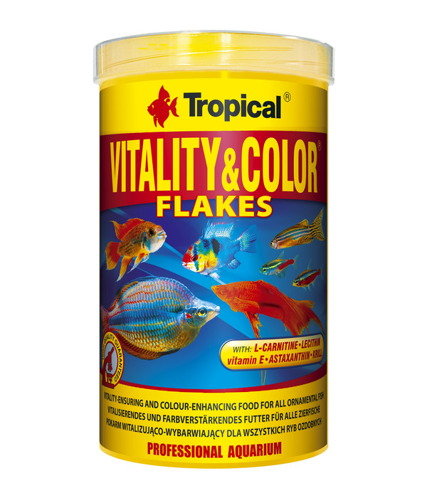 Tropical® Fischfutter Vitality & Color Flakes