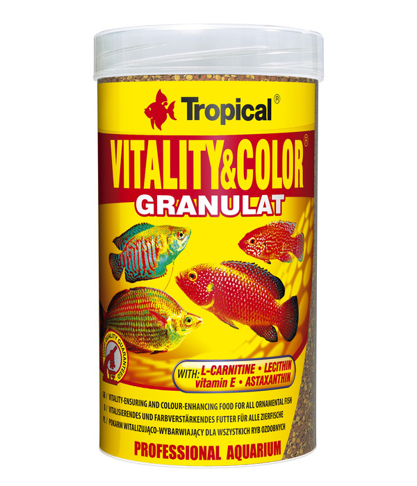 Tropical® Fischfutter Vitality & Color Granulat