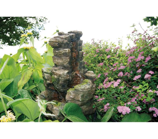Ubbink Polyresin-Gartenbrunnen Chios, 47 x 32 x 58 cm