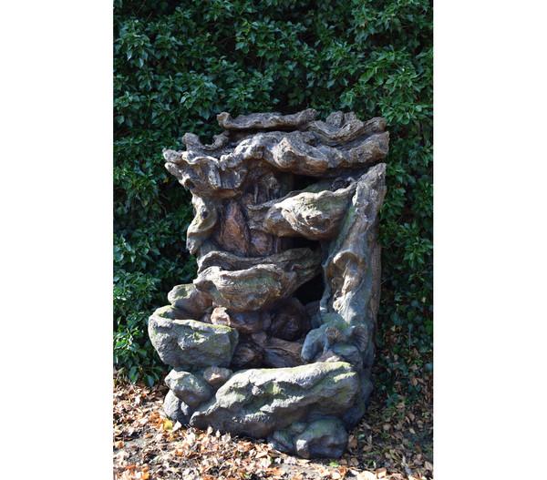 Ubbink Polyresin-Gartenbrunnen Dallas, 144 x 123 x 206 cm