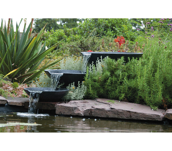 Ubbink Polystone-Gartenbrunnen Nova Scotia, Ø 35/45/55 cm
