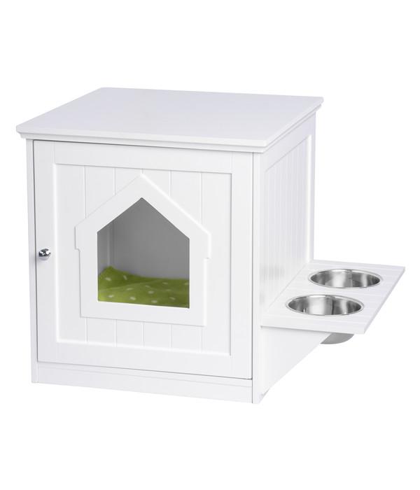 UPP® Haustierschrank mit Futterstation