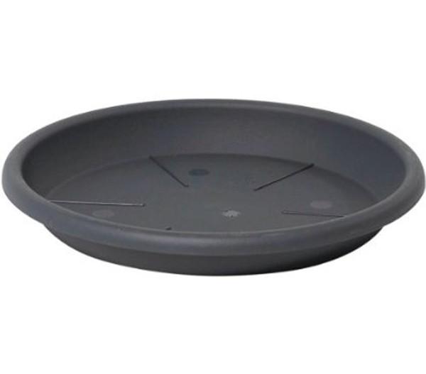 Vasar Kunststoff-Untersetzer Eolo, rund, anthrazit