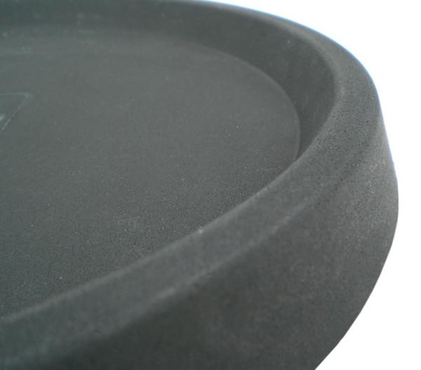 Vasar Kunststoff-Untersetzer, rund, anthrazit