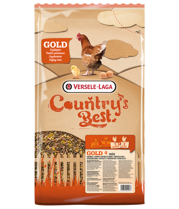 Versele-Laga Country's Best Hühnerfutter Gold 4 mix