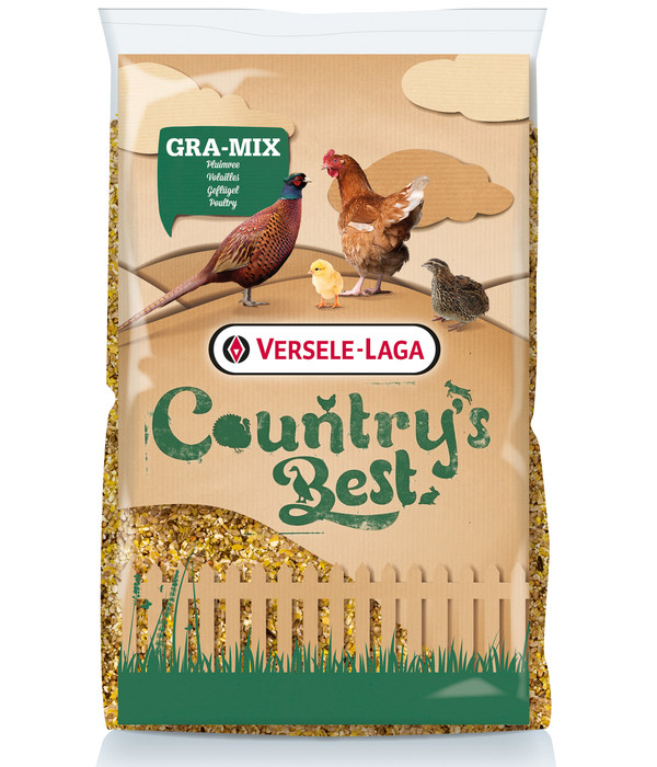 Versele-Laga Country's Best Hühnerfutter Gra-Mix Junghennen- und Fasanenmischung