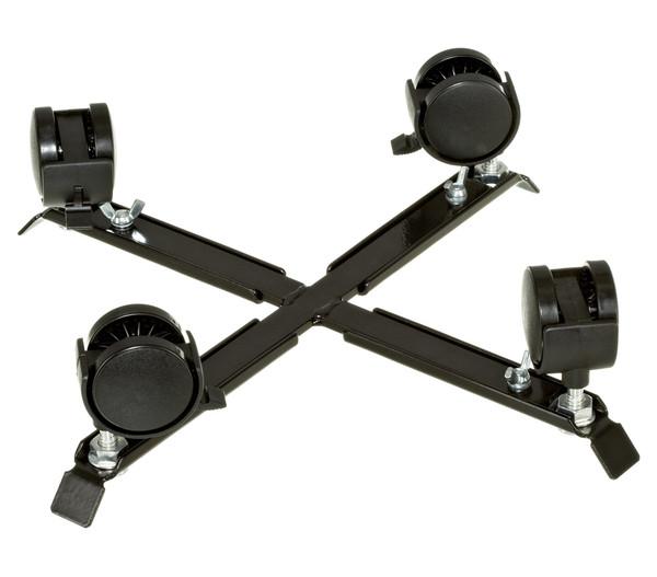 Videx Metall-Pflanzroller, schwarz, 35 x 35 cm