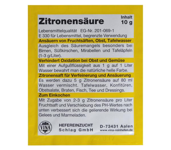 Vina Zitronensäure, 10 g