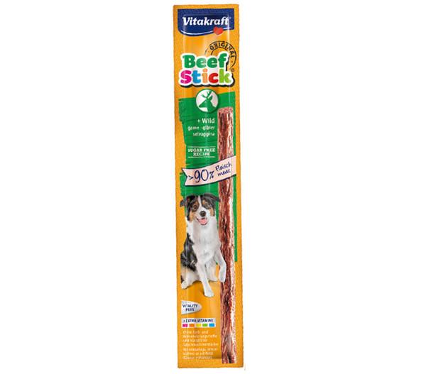 Vitakraft Original Beef-Sticks, Hundesnack, 12g