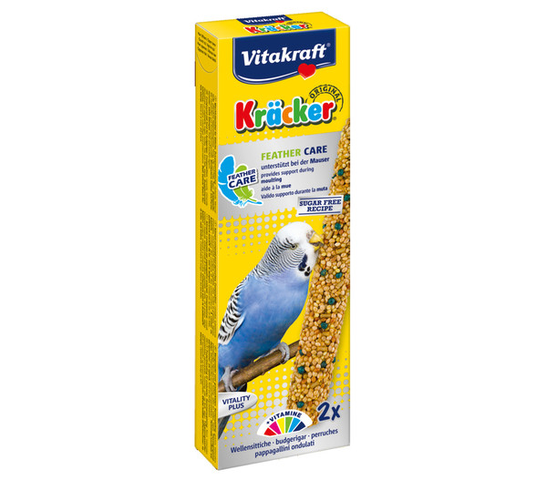 Vitakraft® Vogelsnack Kräcker® Feather Care für Wellensittiche