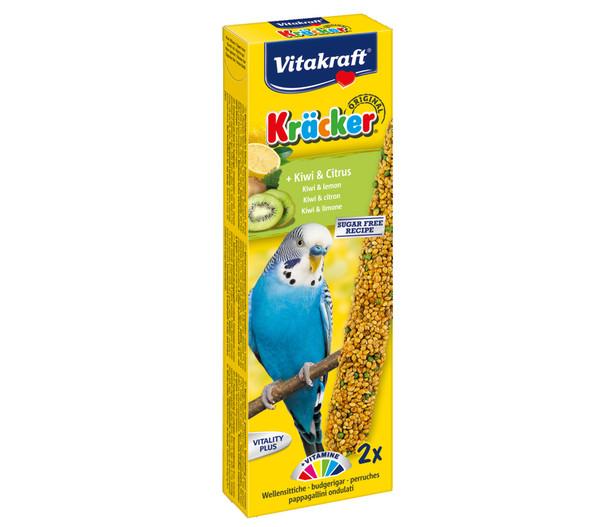 Vitakraft® Vogelsnack Kräcker®, Kiwi & Citrus für Wellensittiche