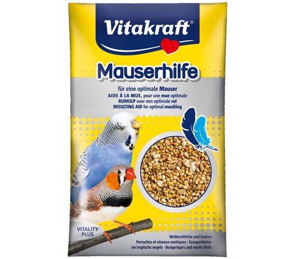 Vitakraft® Vogelsnack Mauserhilfe für Sittiche & Exoten