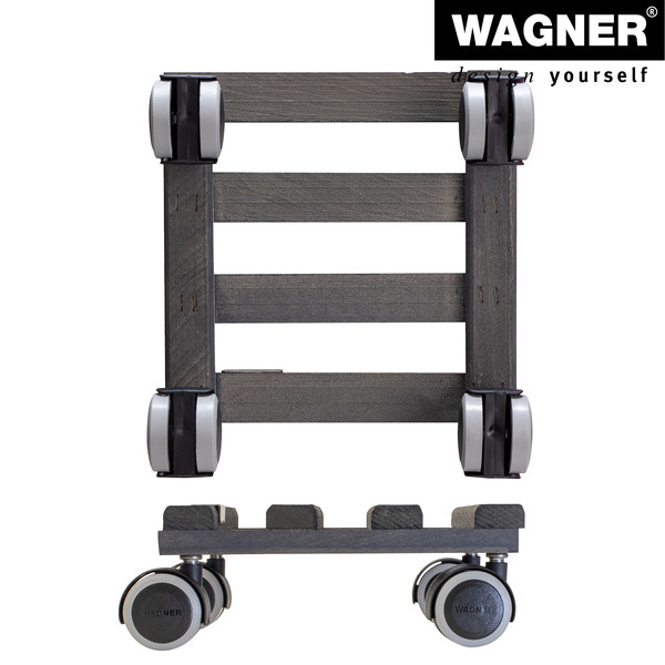 Wagner Pflanzroller Vintage, 19 x 19 cm