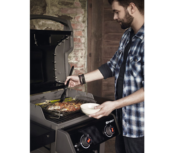 weber gasgrill spirit e 210 original black dehner. Black Bedroom Furniture Sets. Home Design Ideas