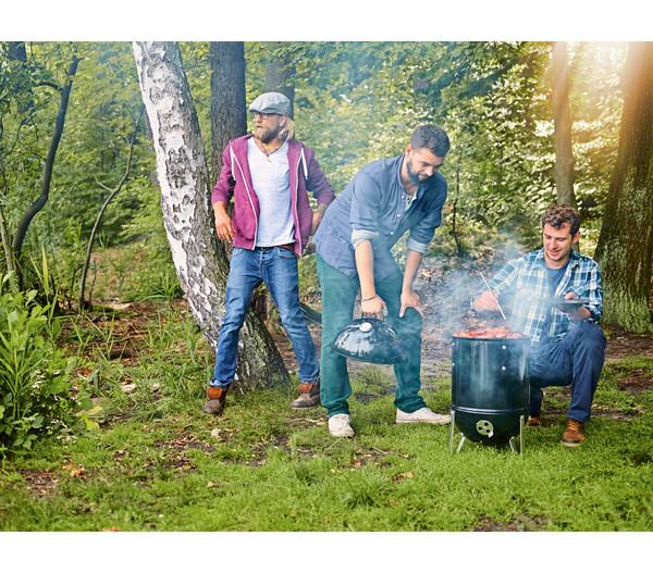 Weber Räucherofen Smokey Mountain Cooker, Ø 47 cm, schwarz