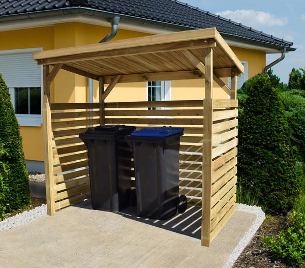 Weka Brennholzlager 663 B