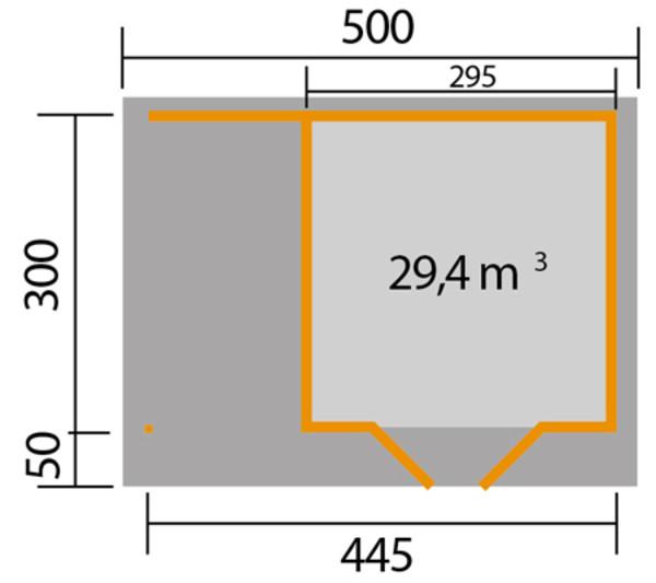 weka Designhaus 126 A, Gr. 2