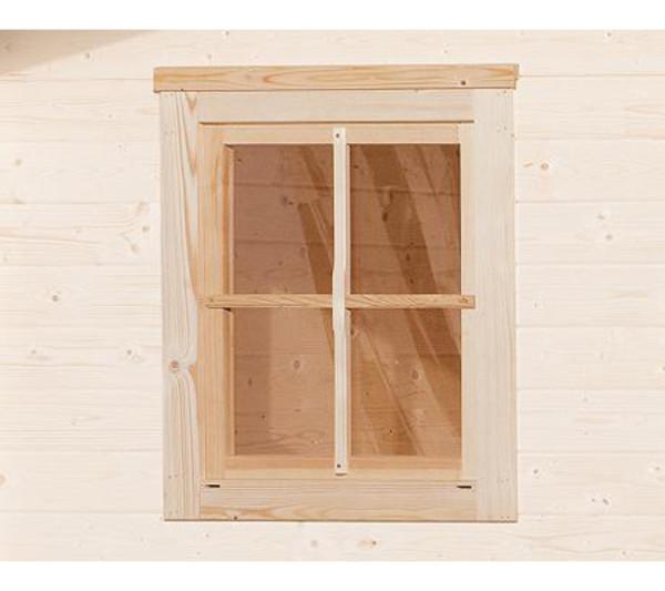 Weka Einzelfenster für Gartenhaus 45 mm