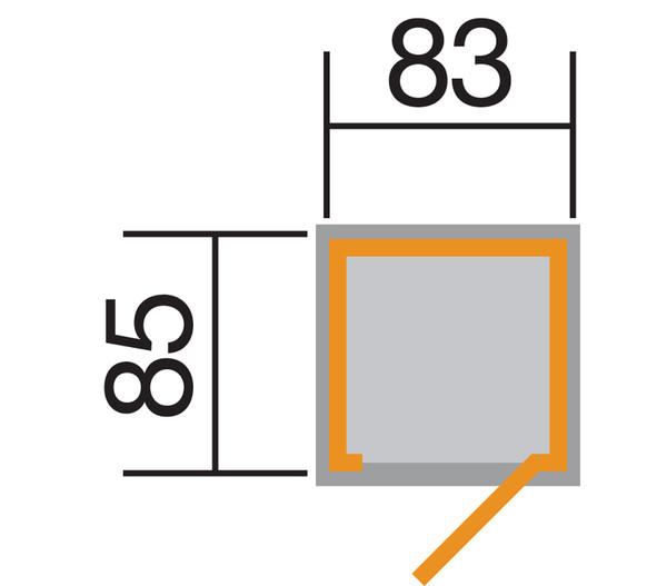 Weka Garten- und Terrassenschrank 361