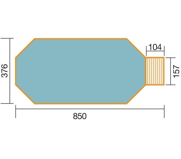 Weka Schwimmbad 594 A