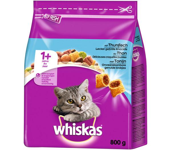 Whiskas® 1+ Trockenfutter, 800g